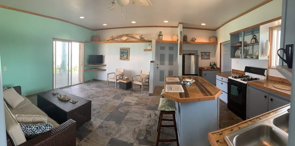Ground Floor Living-Kitchen Spacce