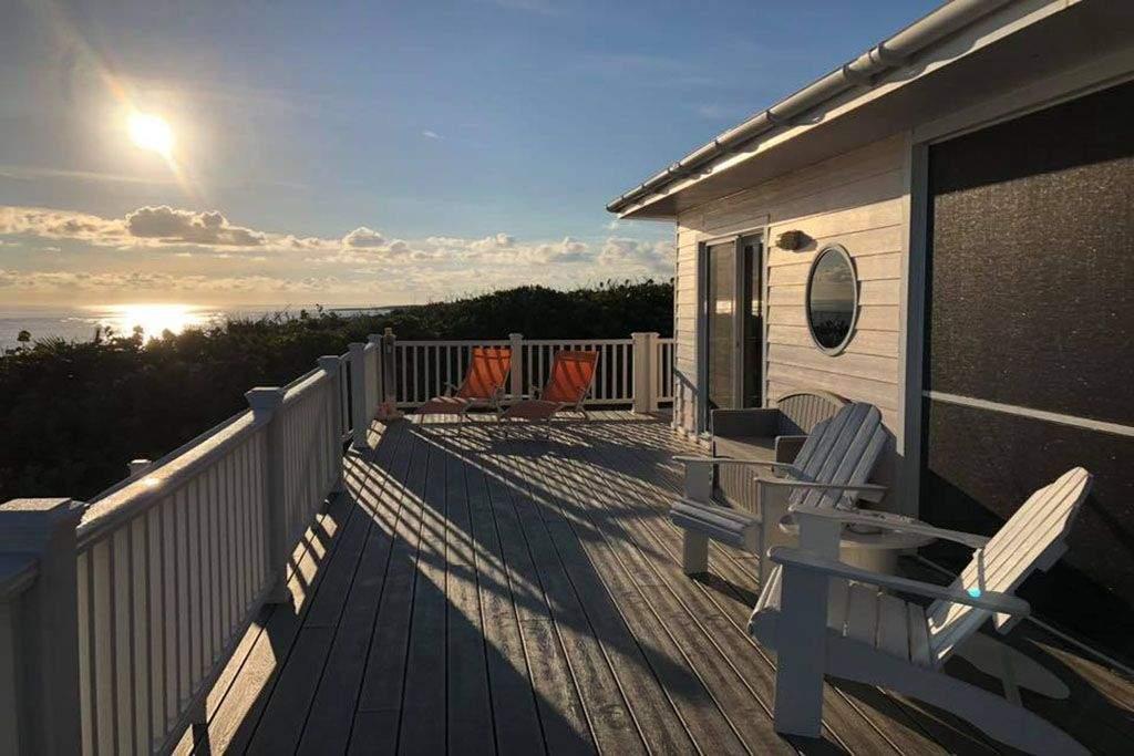 Sunrise from Oceanfront deck