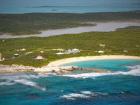 Far Aerial View of Cove
