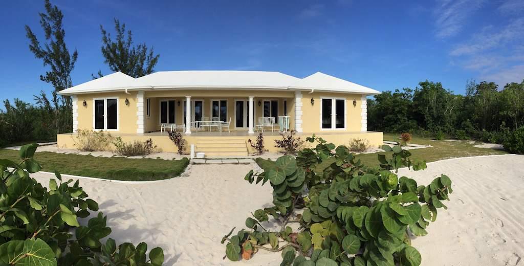 Turnkey 3 Bedroom Beachfront Home Long Island Bahamas