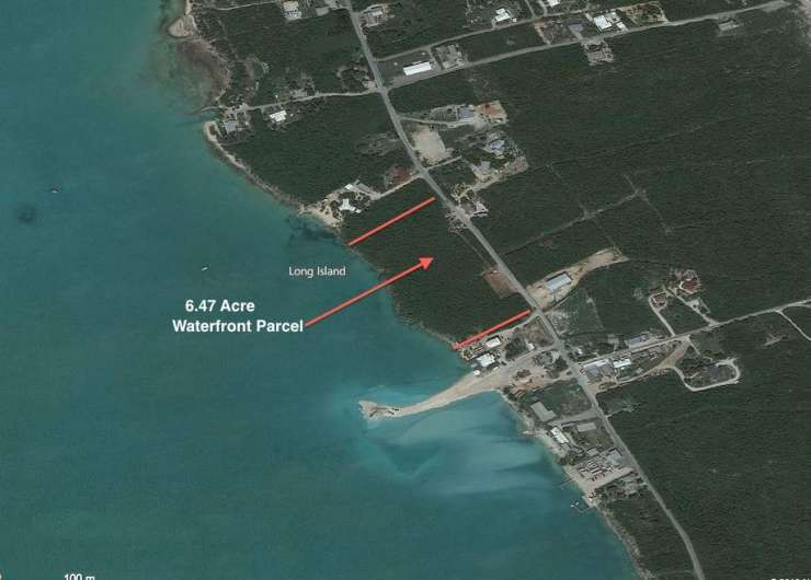 6.47 Acre Waterfront Parcel – Salt Pond