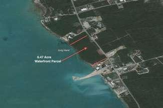 6.47 Acre Waterfront Parcel – Salt Pond